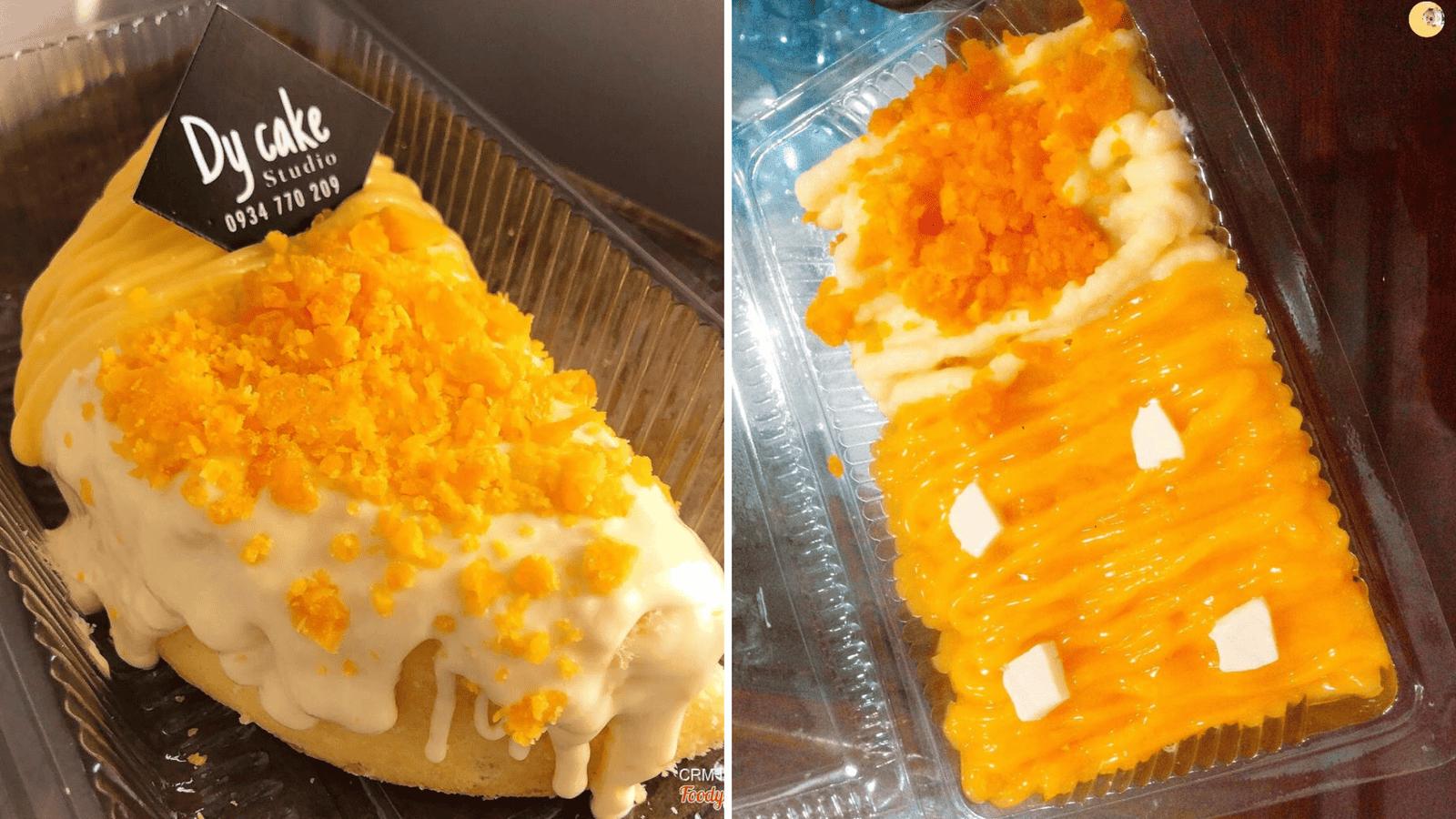 Những chiếc bánh bông lan trứng muối chất lượng nhà Dy Cake