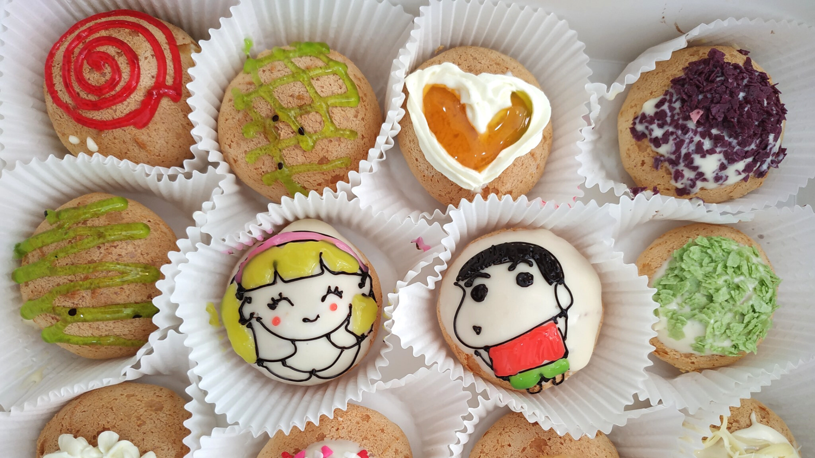 Đồng giá 10K cho tất cả những chiếc bánh dễ thương này