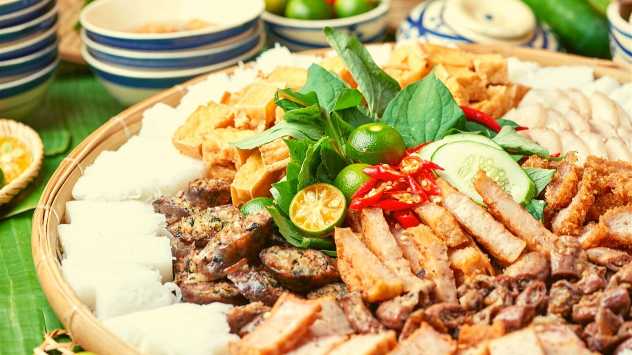 10 quán bún đậu mắm tôm Hà Nội &quotship tận nhà &quot cực ngon