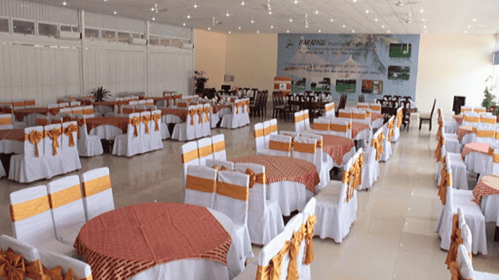 Không gian nhà hàng Cá Ông của khu Resort